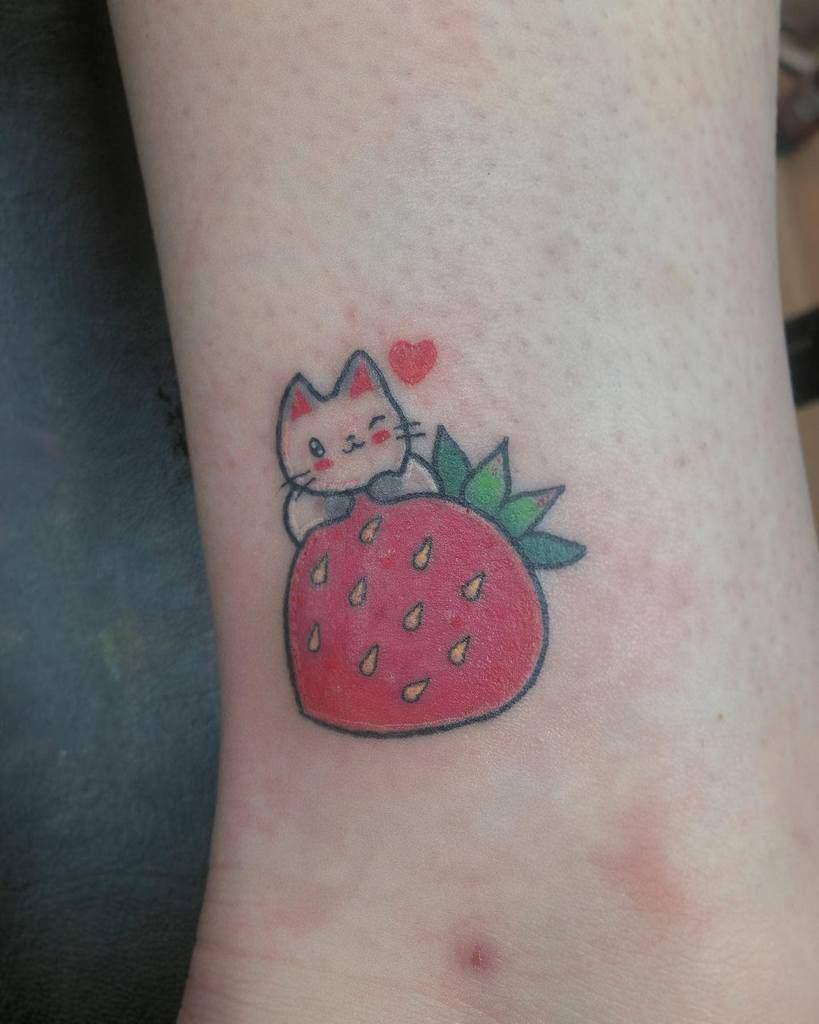 Mignons petits tatouages colorés Itskaaait