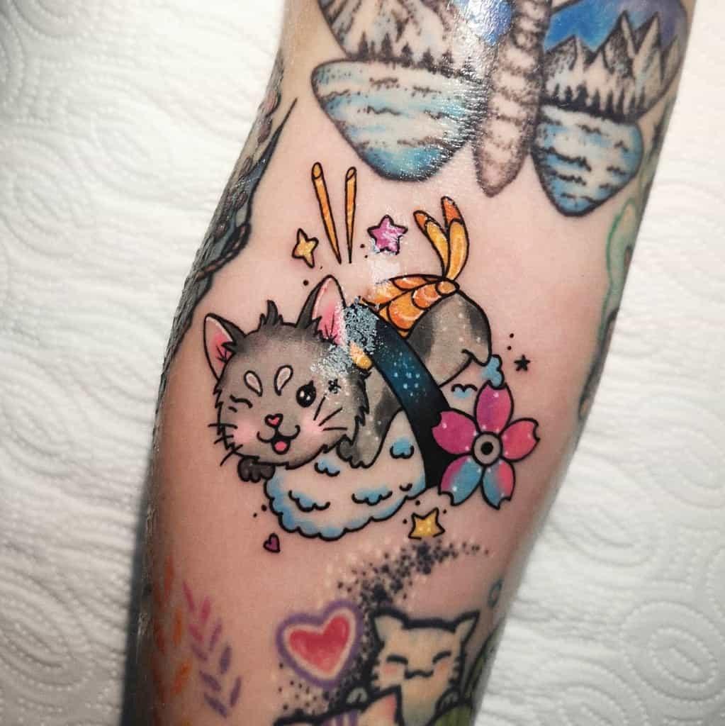 Mignons petits tatouages d'avant-bras Tosz