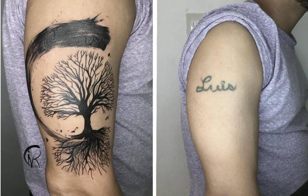 Tatouages Ivanvrios : le travail au noir comme en haut et comme en bas