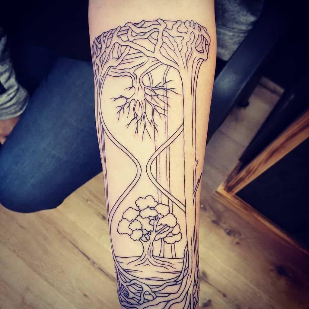 Avant-bras comme ci-dessus, donc en dessous Tattoos Redryder1111