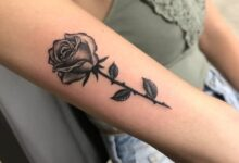 Top 71 Best Small Rose Tattoo Ideas – [2020 Inspiration Guide]