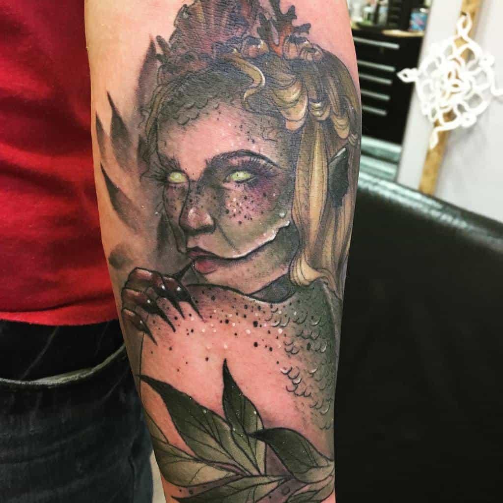 Neotrad Siren Tattoos Tattoos Oldman