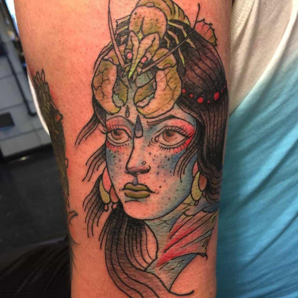 Tatouages de Neotrad Siren Tatouage de Markbennett