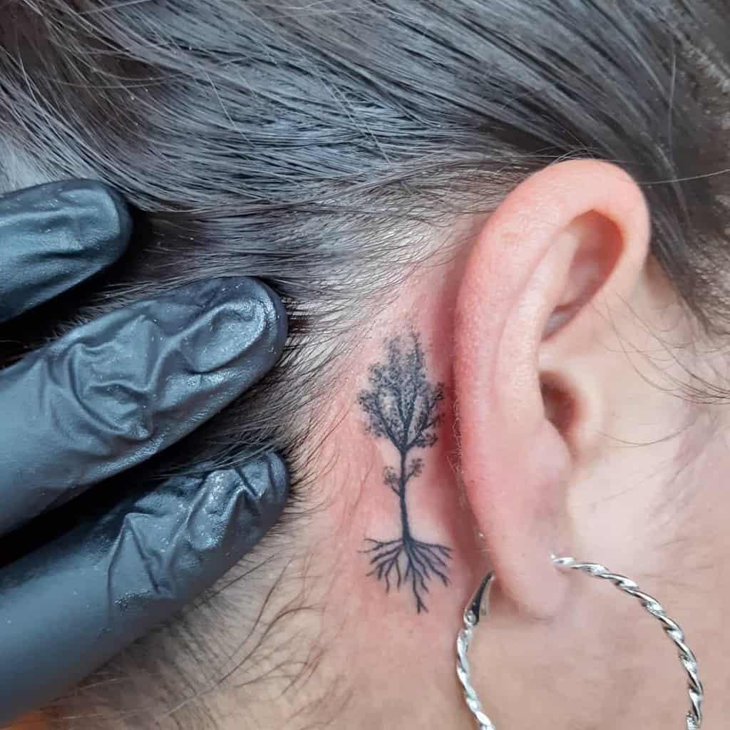 Tatouage de petites oreilles pour les femmes Loko Will