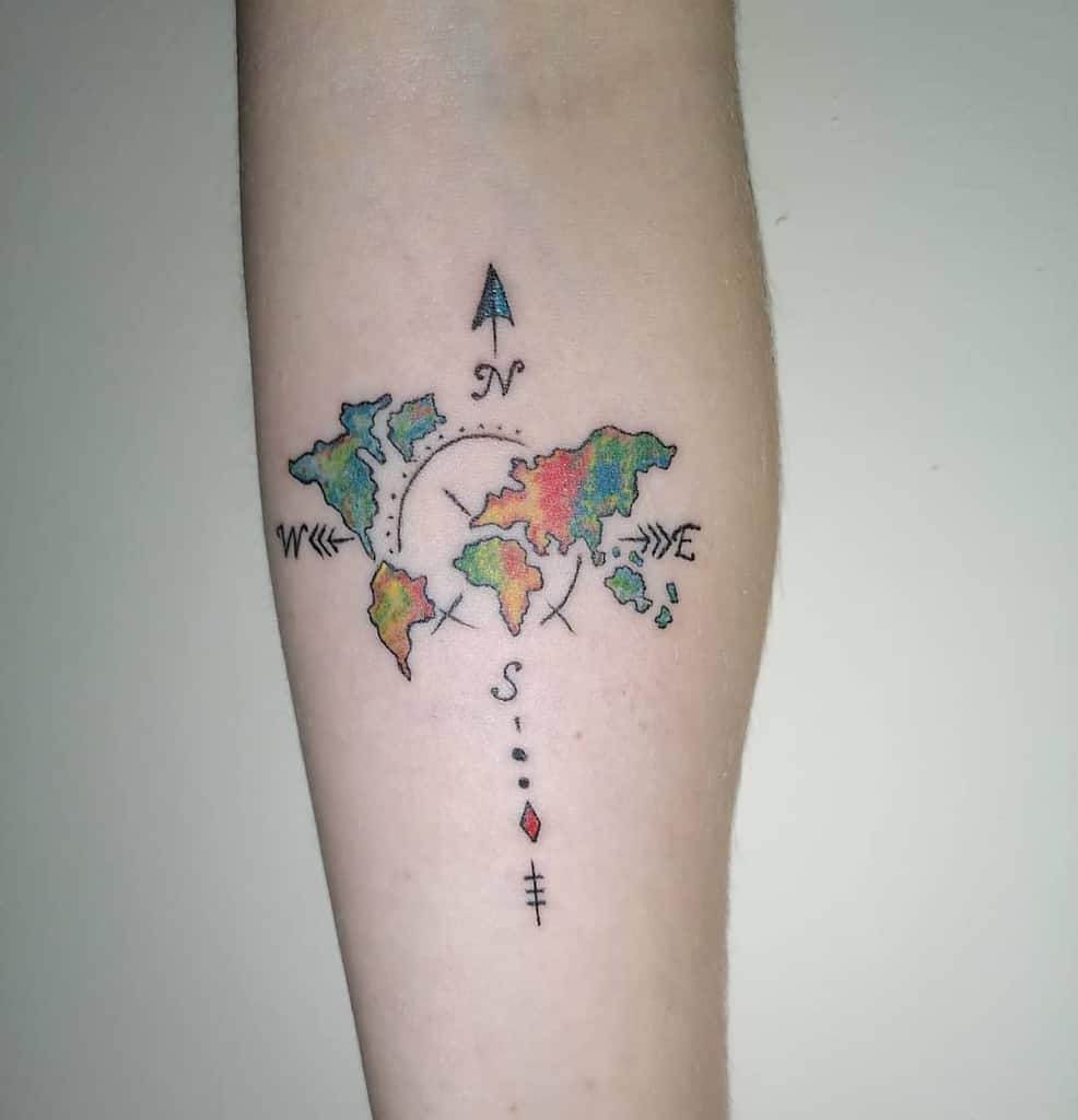 Petit tatouage d'avant-bras pour femmes 2 Prisoninksam