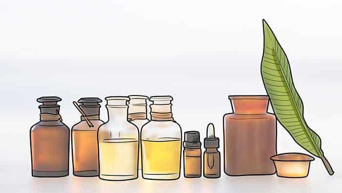 utiliser des huiles naturelles pour les sourcils plus épais