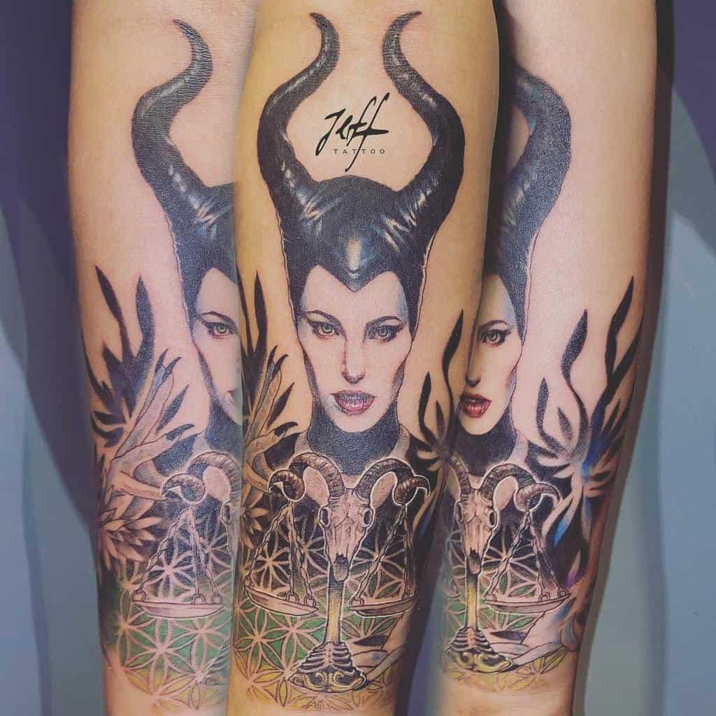 Tatouages maléfiques simples Jeffinktwtatto