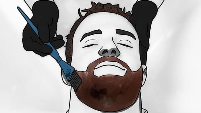 Utilisation de la teinture pour barbe pour améliorer l'apparence de votre barbe