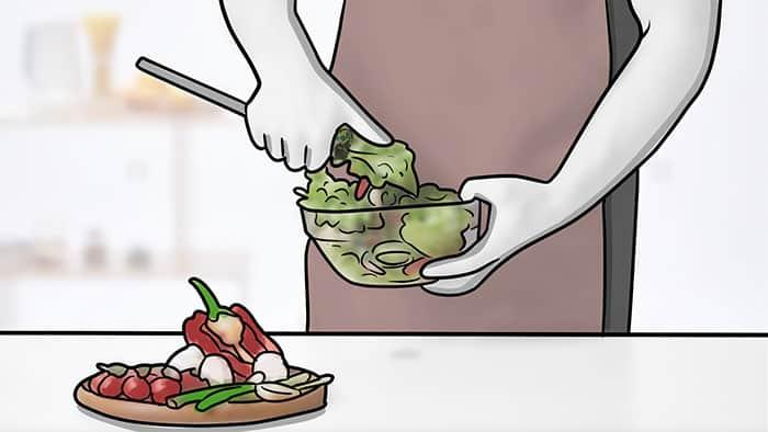 maintenir une alimentation saine