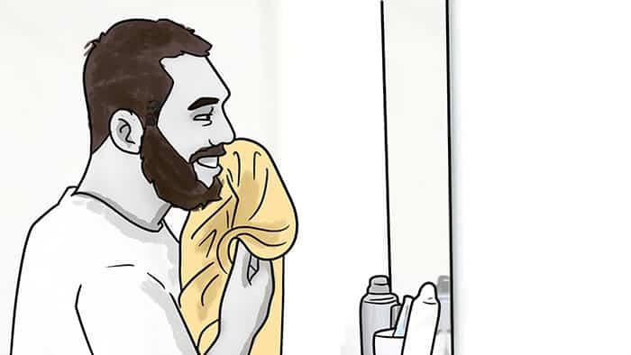 comment utiliser la cire de barbe 2