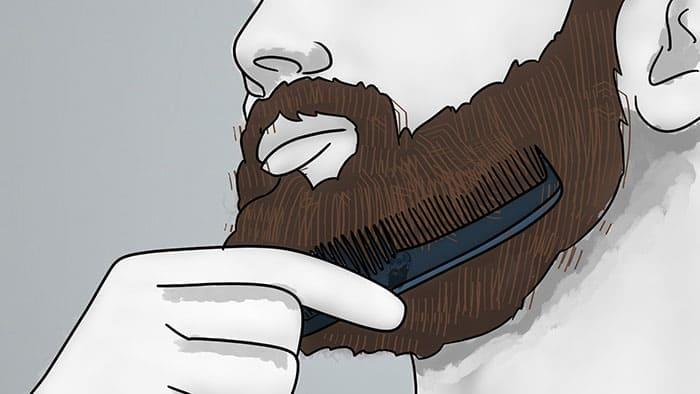 comment utiliser la cire de barbe 6