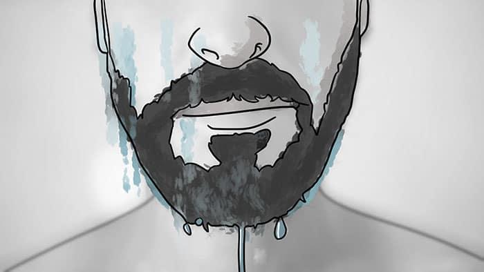 comment enlever la cire de barbe 4