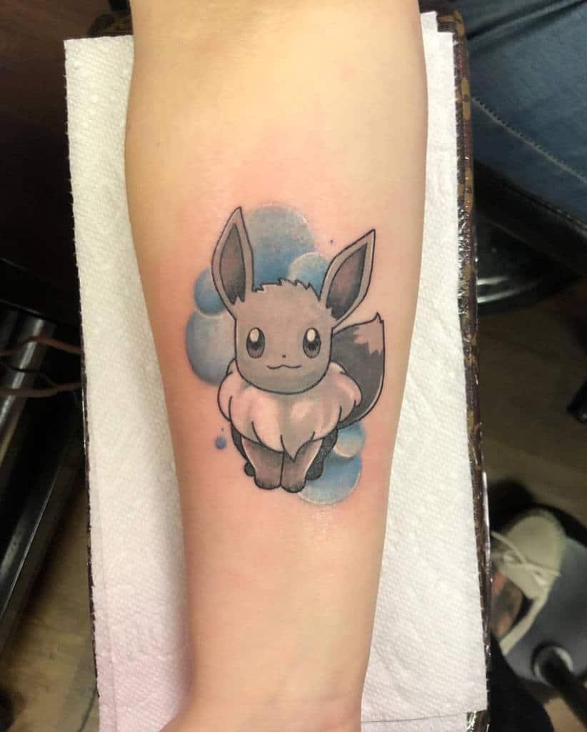 Color Eevee Tattoos Marissa.tattoo
