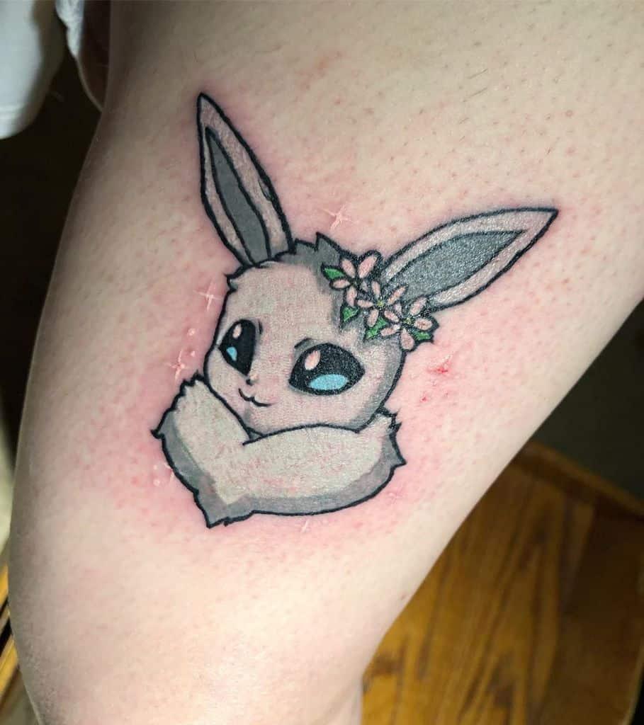 tatouages mignons d'eevee arrigumdrops