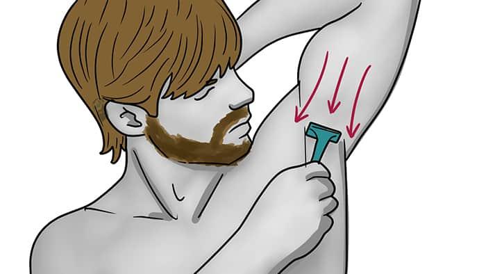 comment se raser les aisselles 6