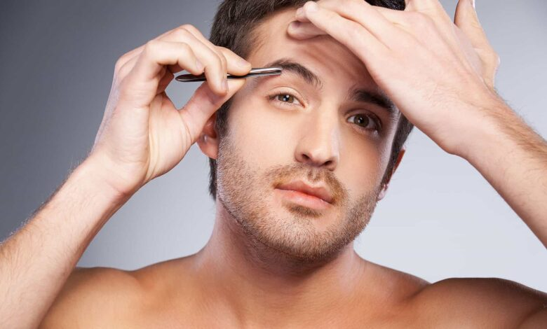 how to groom mens eyebrows