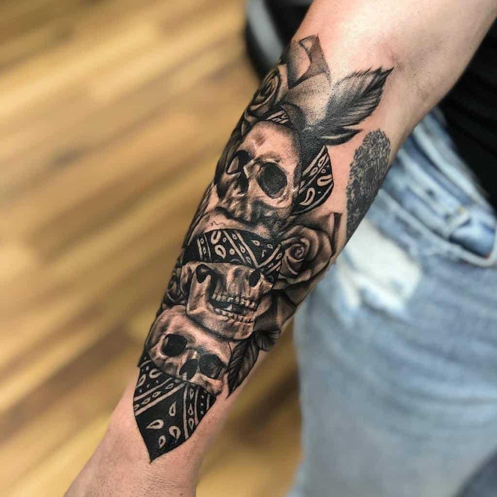Blackwork Hear No Evil See No Evil Speak No Evil Tattoos E.s.e.tattoos