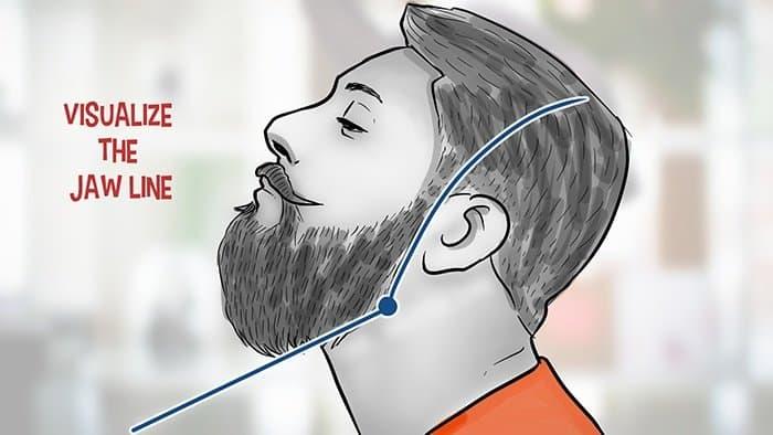 Suivre un guide général de la barbe