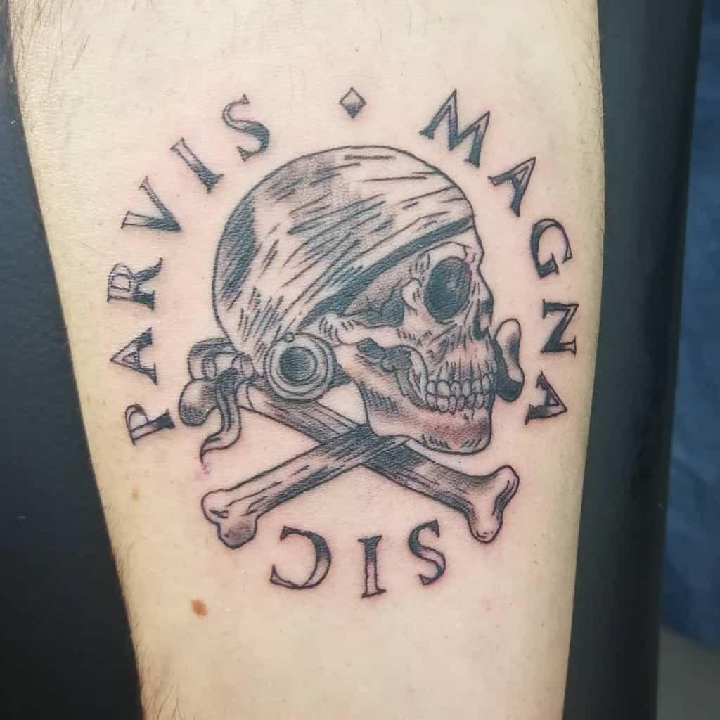 Arm Sic Parvis Magna Tattoos Corrado Damico