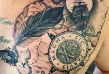 Top 101 Best Sic Parvis Magna Tattoo Ideas – [2020 Inspiration Guide]