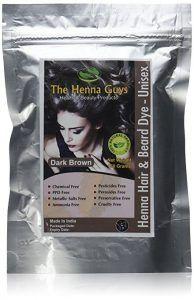 Pack de Henné brun foncé pour les hommes