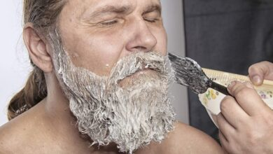 how to dye your beard coloring