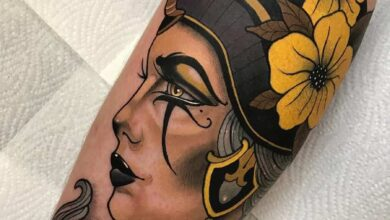 Top 97 Best Nefertiti Tattoo Ideas – [2020 Inspiration Guide]