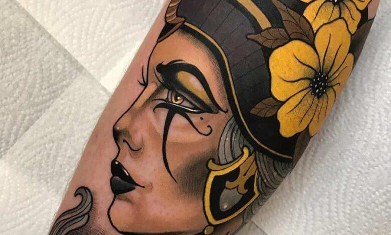 Top 97 Best Nefertiti Tattoo Ideas – [2020 Inspiration Guide]