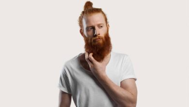 how to get rid of beard dandruff
