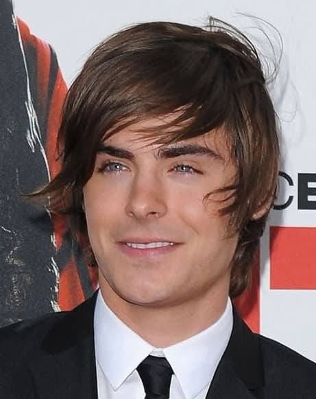 zac efron the mop hairstyle