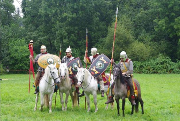 Reconstitution de la cavalerie romaine - Fête romaine à Augusta Raurica. (Codrin.B/ CC BY-SA 3.0)