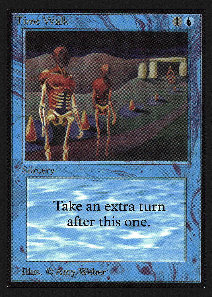 La magie la plus chère Le rassemblement des cartes - La marche du temps