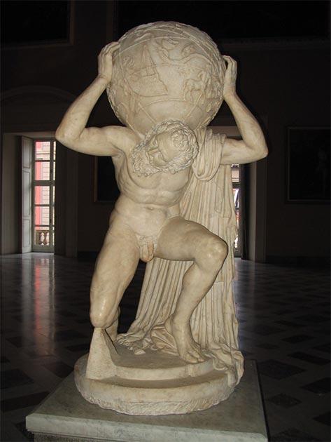 Atlas Farnese. (Re probst / CC BY-SA 3.0)