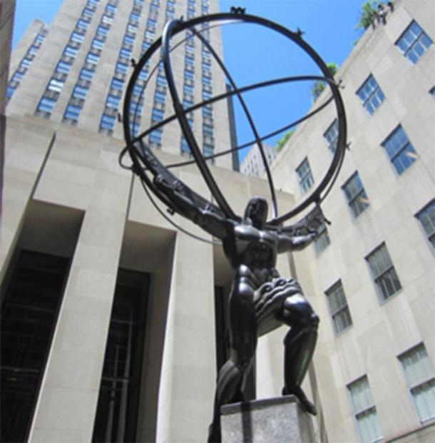 La statue de l'Atlas de Lee Lawrie. (Un autre croyant / CC BY-SA 4.0)