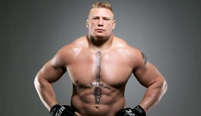 Les plus riches combattants du MMA - Brock Lesnar