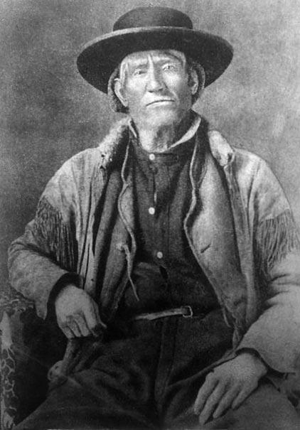 Jim Bridger (1804-1881) était un montagnard très célèbre qui vivait dans la nature, le piégeage étant un mode de vie. Photographie, Bibliothèque publique de Denver. (Domaine public)