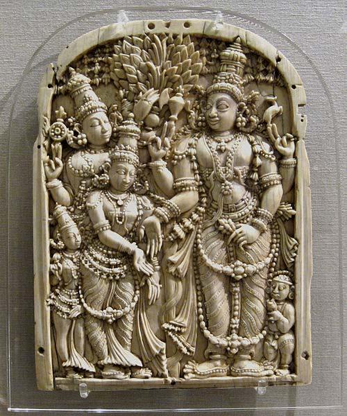Le mariage de Shiva et Parvati : Le mariage de la charmante. (CC BY SA 2.5)