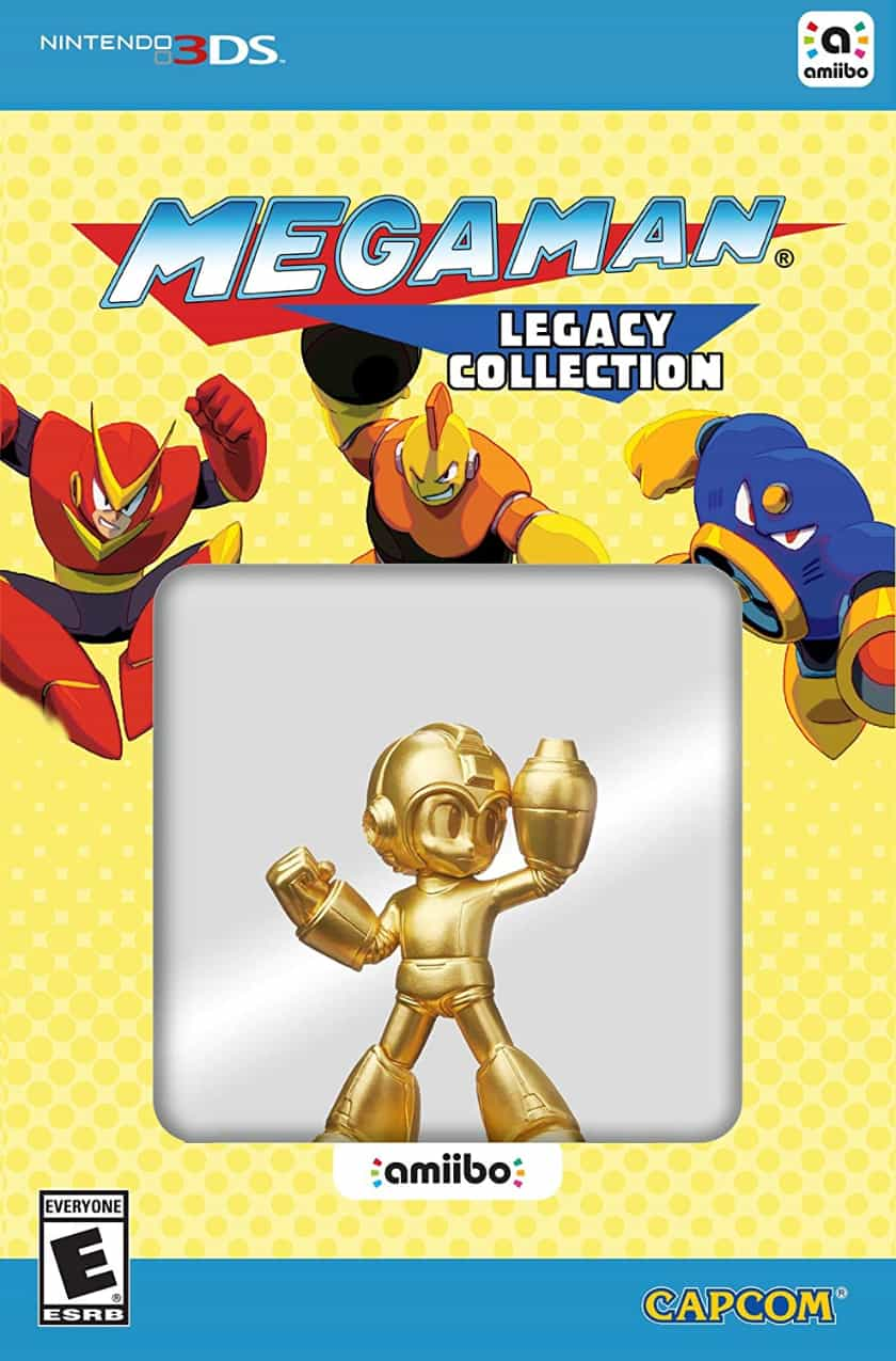 Amiibos le plus cher - Gold Mega Man