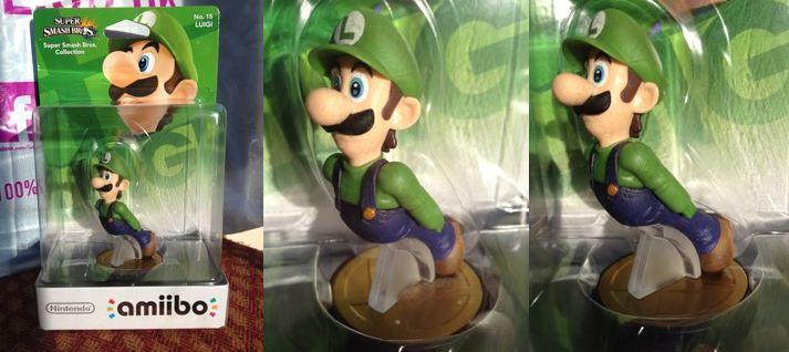 Les chiffres les plus chers d'Amiibo - Luigi, la main gauche manquante