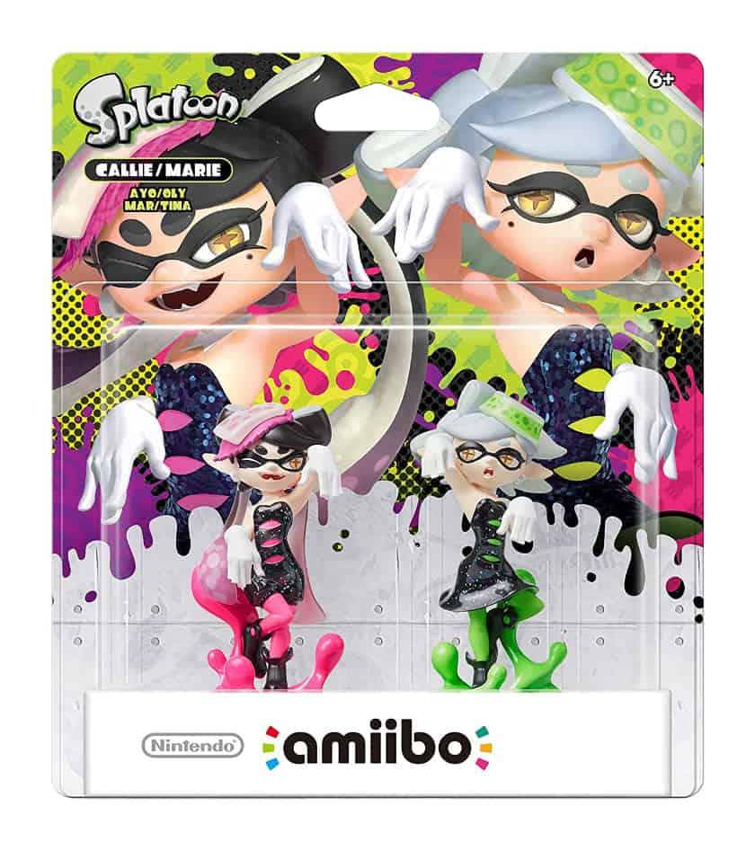 Les figurines d'Amiibo les plus chères - Sœurs calamars Callie et Marie