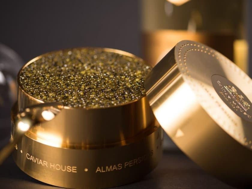 Les aliments les plus chers - Caviar d'almas