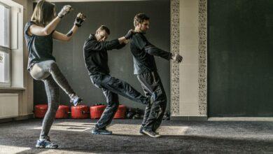 Photo de 4 techniques de Krav Maga pour un entraînement à domicile