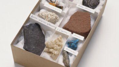 Acheter une collection de pierres