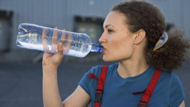 Boire plus d'eau par temps chaud