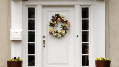 Photo de Choisissez la couleur de votre porte d'entrée Feng Shui