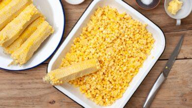 Comment congeler le maïs en épis