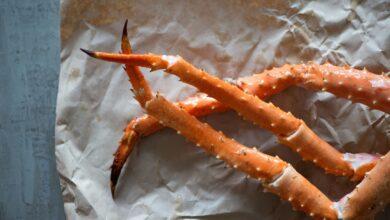 Comment cuire les pattes de crabe