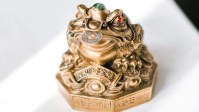Comment placer votre grenouille à argent Feng Shui