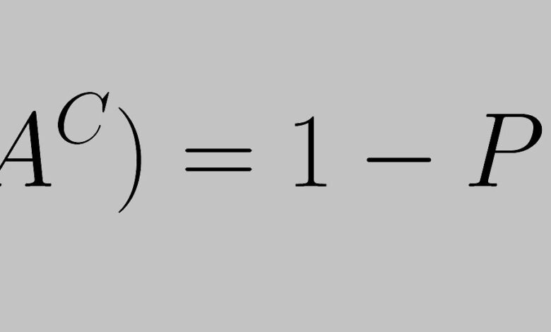 Comment prouver la règle du complément dans la probabilité