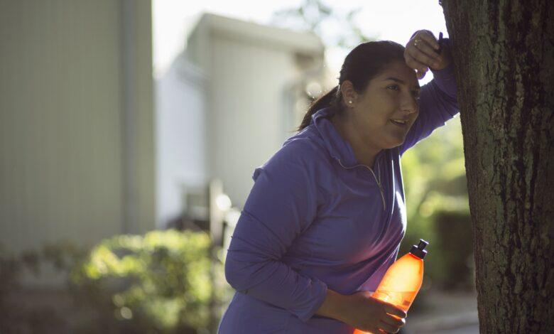 Comment traverser un plateau de perte de poids à pied